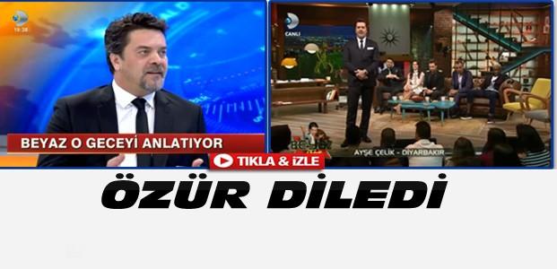Beyaz'dan PKK Propagandası Özrü-VİDEO