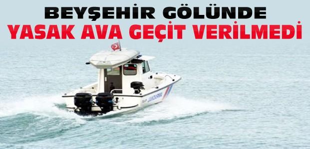 Beyşehir Gölünde 91 Bin Liralık Ceza Kesildi