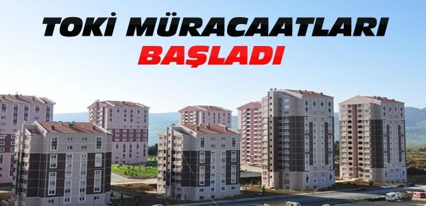 Beyşehir TOKİ Konutları Müracaatları Başladı