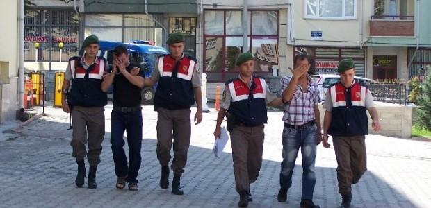 Beyşehir'de Mazot Hırsızı Tutuklandı