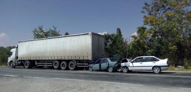 Beyşehir'de Zincirleme Trafik Kazası