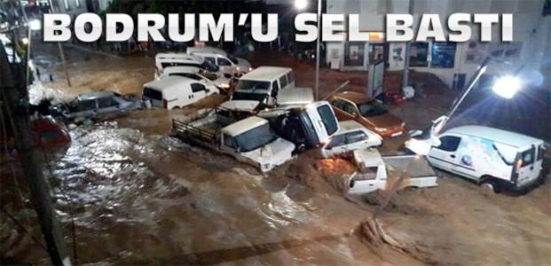 Bodrum'u Sel Vurdu
