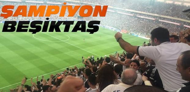 Bu sezonun şampiyonu Beşiktaş oldu