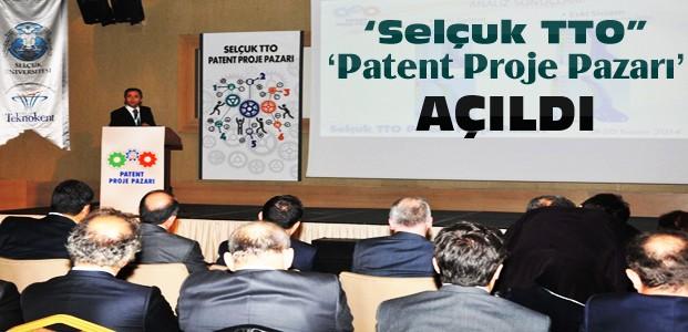 Buluşlar Selçuk TTO Patent Proje Pazarında Sergilendi