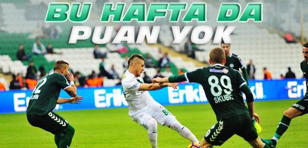 Bursaspor Atiker Konyaspor Maç Sonucu