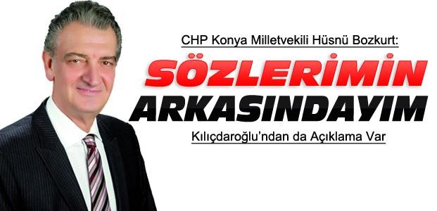 CHP Konya Milletvekili Bozkurt'tan Açıklama