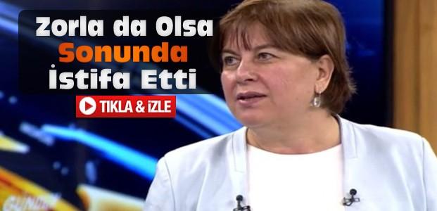 CHP'li Elif Doğan Türkmen İstifa Etti-VİDEO