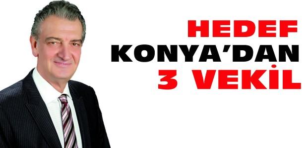 CHP'nin Hedefi Konya'dan En Az 3 Milletvekili