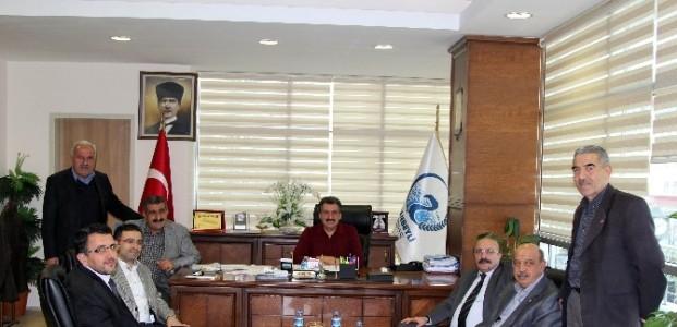 Cihanbeyli'de Organize Hayvancılık Bölgesi İncelemesi Yapıldı