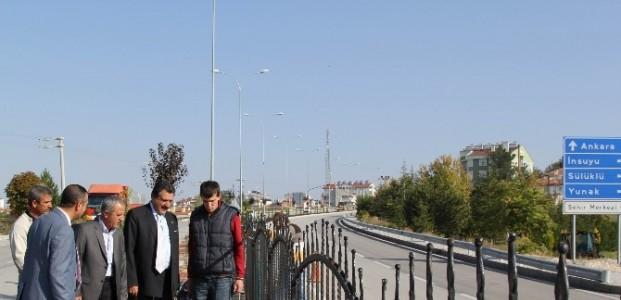 Cihanbeyli'de Refüjler Demirlerle Kapanıyor