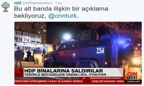 CNN Türk HDP'den özür diledi