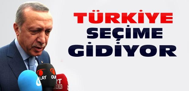 Cumhurbaşkanı Erdoğan Seçim Kararı Aldı
