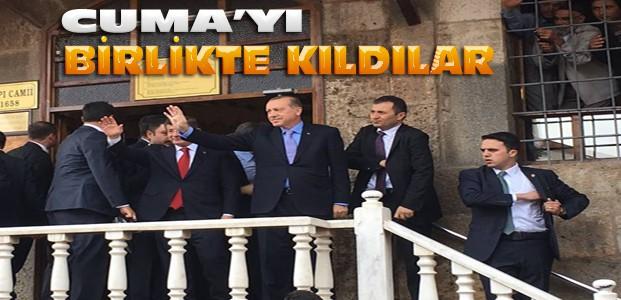 Cumhurbaşkanı Erdoğan ve Davutoğlu Konya'da