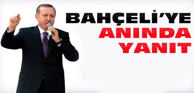 Cumhurbaşkanı Erdoğan'dan Bahçeli'ye Jet Yanıt