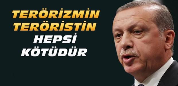 Cumhurbaşkanı Erdoğan'dan Paris Açıklaması