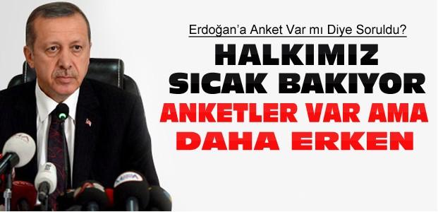 Cumhurbaşkanı Erdoğan:Halk Sıcak Bakıyor