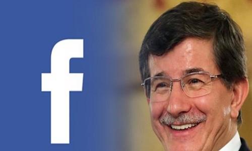 Davutoğlu Facebook'tan canlı yayın yaptı
