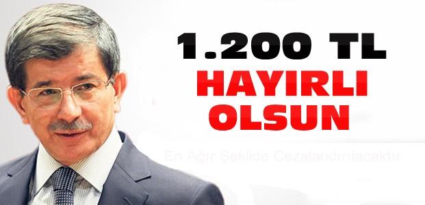 Davutoğlu Twitter'dan Yazdı:Hayırlı Olsun