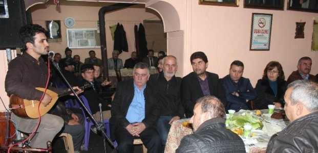 """Derbent'te Ozanlar """"Kayak Merkezi"""" İçin Atıştı"""