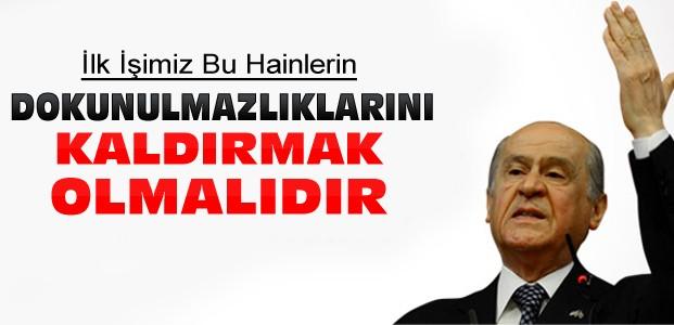 Devlet Bahçeli'den HDP'lilere sert sözler
