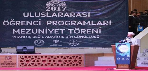 Diyanet İşleri Başkanı Konya'da Konuştu