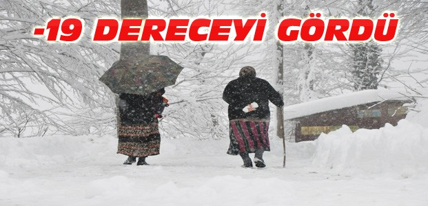 Doğu Anadolu Bölgesi Donuyor