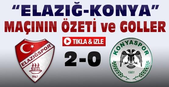 Elazığspor-Torku Konyaspor Maçı-Özeti ve Golleri-Tıkla İzle