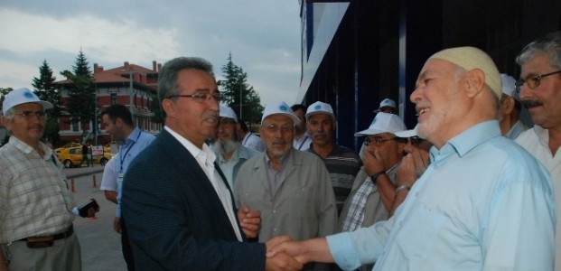 Emekliler YHT İle Ankara Turuna Çikti