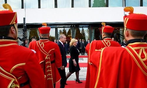 Erdoğan Hırvatistan'da