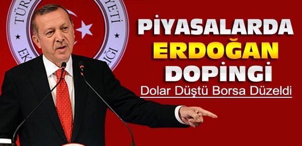 Erdoğan Konuştu Dolar Düştü Borsa Çıktı