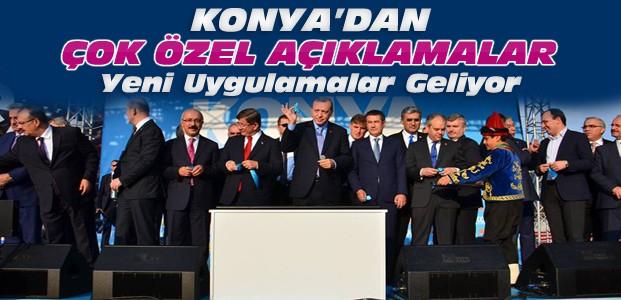 Erdoğan Konya'da Konuştu: Yeni Uygulamalar Geliyor