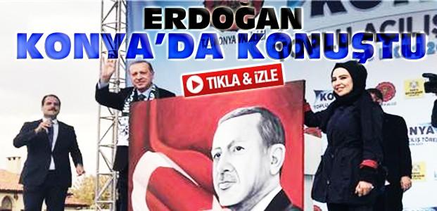 Erdoğan Konya'da Toplu Açılış Töreninde Konuştu-VİDEO