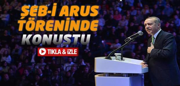 Erdoğan Şeb-i Arus Töreninde Konuştu-VİDEO