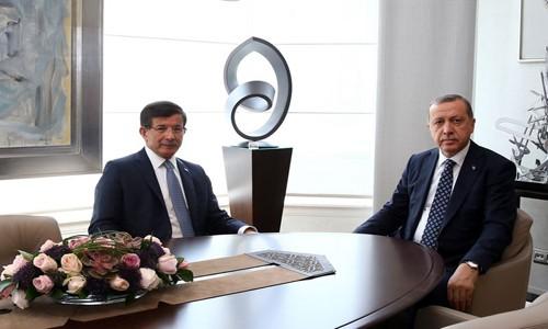 Erdoğan ve Davutoğlu Görüştü