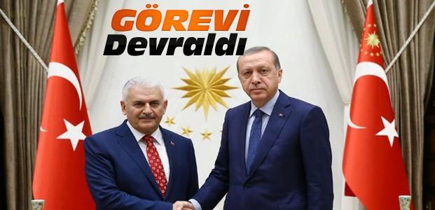 Erdoğan Yıldırm'a Hükümet kurma görevini verdi