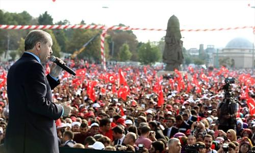 Erdoğan'dan Konya'da Musul açıklaması