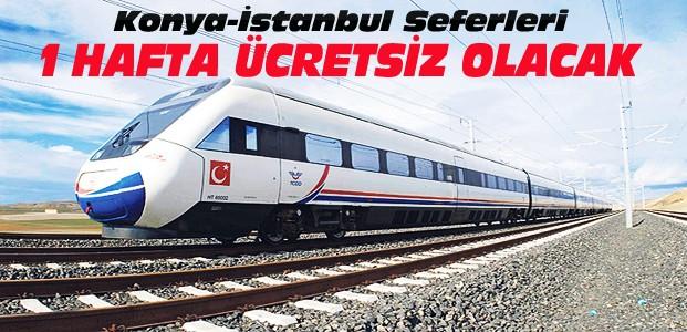Erdoğan'dan Konya'ya Müjde-1 Hafta Ücretsiz