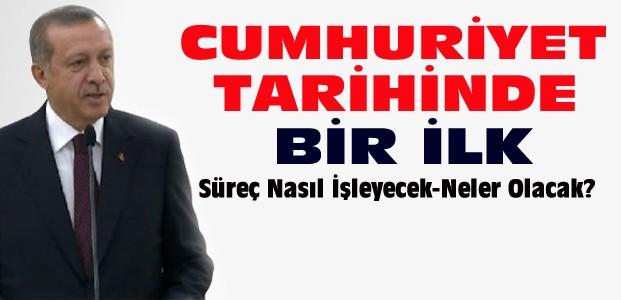 Erdoğan Düğmeye Basıyor