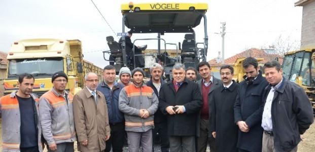 Ereğli'de Bir Mahallenin 25 Yıllık Asfalt Özlemi Bitti