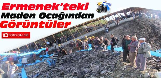 Ermenek'teki Madenden İlk Görüntüler-FOTO GALERİ