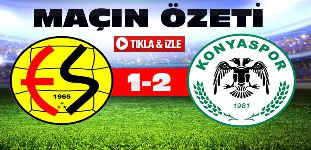 Eskişehirspor Torku Konyaspor ÖZET-VİDEO