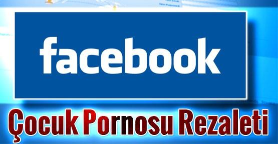 Facebook Kullanıcıları Çocuk Pornosu İle Şokta!