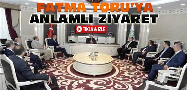 Fatma Toru Konyaspor Yönetimini ağırladı-VİDEO