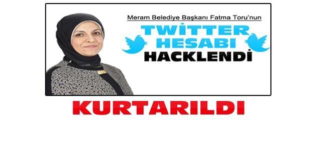Fatma Toru'nun Hacklenen Hesabı Kurtarıldı