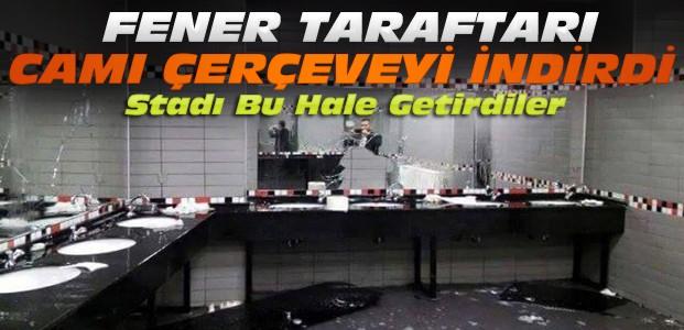 Fenerbahçe Taraftarı Konya Stadını Kırdı Döktü