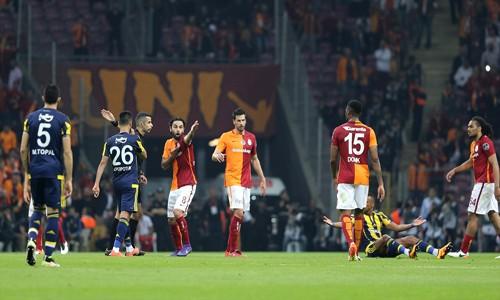 Galatasaray Fenerbahçe maç sonucu