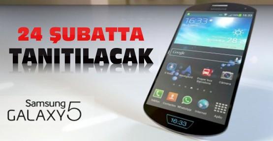 Galaxy S5 24 Şubatta tanıtılacak