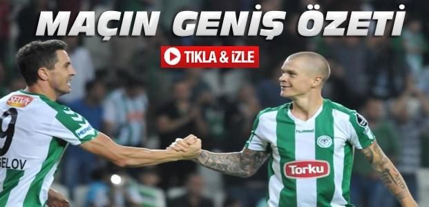 Gaziantepspor-Torku Konyaspor-ÖZET-VİDEO