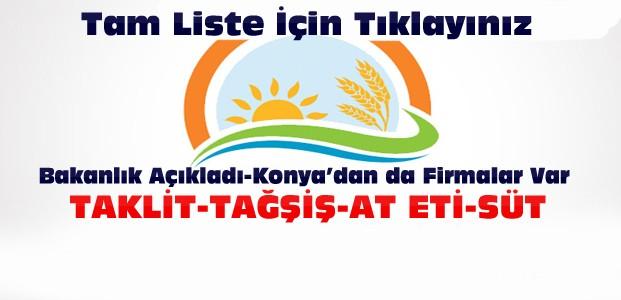 Gıda Bakanlığı Uyardı:Bu Ürünleri Almayın