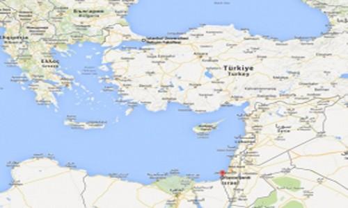 Google Maps Gazze'yi Tanımadı